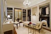 Açık Renk Giyinme Odası Modelleri