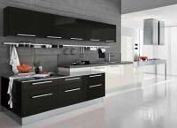 Siyah Hazır Mutfak Dolabı Modelleri