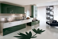 Yeşil Hazır Mutfak
