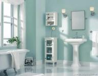Açık Yeşil Banyo Dekorasyonu
