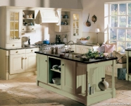Açık Yeşil Mutfak Dekorasyonu
