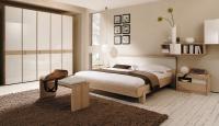 Bej Renk Yatak Odası