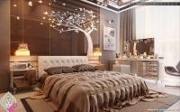 En Güzel Kahverengi Yatak Odaları