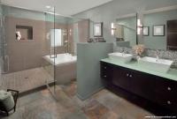 Geniş Banyolar İçin Dekorasyon