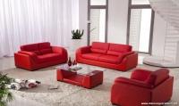 Kırmızı Koltuk Modelleri ve Halı Kombini