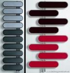Kırmızı Siyah Dekoratif Kalorifer Petekleri