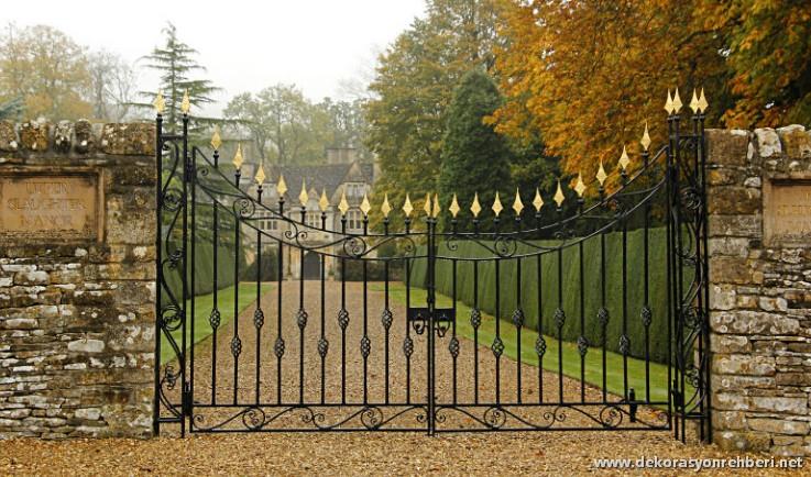 Kırsal Bahçe Kapıları