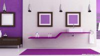 Mor Renk Banyo Modelleri Fikirleri