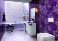 Mor Renk Banyo Örnekleri