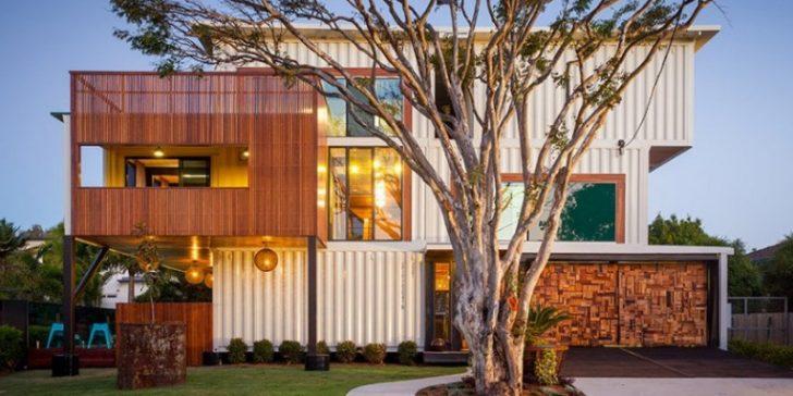 Çok Şık Konteyner Ev Modelleri Fikirleri