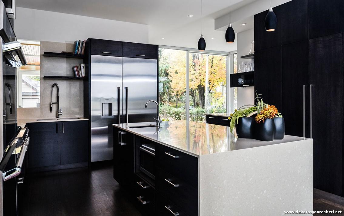Rengarenk Mutfak Dolapları İle Mutfaklar Cıvıl Cıvıl