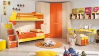 Turuncu Genç Odası Dekorasyonu