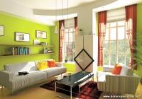 Uçuk Yeşil Ev Rengi Dekorasyonu