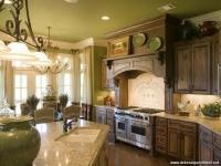Yeşil Ağırlıklı Mutfak Dekorasyonu