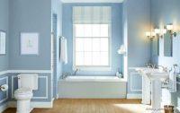 Açık Mavi Banyo Dekorasyonu