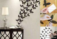 Duvar İçin Kelebek Süslemesi