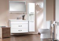 Küçük Banyolar İçin Creavit Mobilyalar
