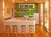 Aydınlık Ahşap Mutfak Dekorasyon Fikirleri
