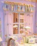 Bebek Odası İçin Perde Fikirleri