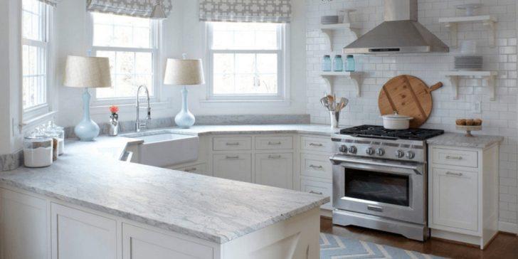 Beyaz Renk Ferah Mutfak Modelleri