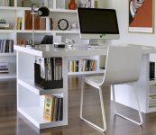 Beyaz Renk Dekorasyonla Uyumlu Bilgisayar Masası Modelleri