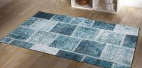 Dekoreko Patchwork Mavi Halı Modeli