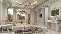 Klasik Ev Dekorasyonlarında Açık Renklerin İhtişamı