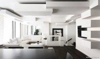 Evle Uyumlu Beyaz Asma Tavan Modelleri