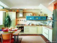 Ferah Mutfak Dekorasyonları