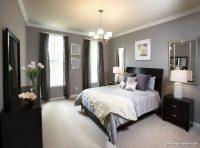 Gri Yatak Odalarına Koyu Perde Önerileri