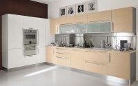 Krem Beyaz Modern Mutfak Dolapları