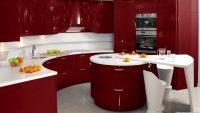 Kırmızı Beyaz Renkli Mutfak Dekorasyonu Fikirleri