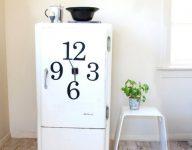 Magnetli Büyük Buzdolabı Saati