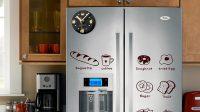 Magnetli Buzdolabı Saati