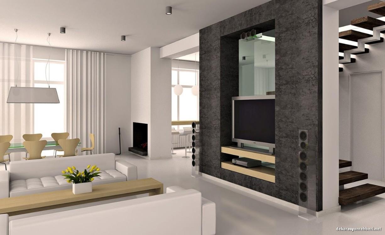 Modern Ev Dekorasyonu Fikirleri