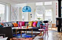 Oturma Odası İçin Renkli Fikirler