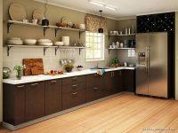 Parlak Mutfak Dolapları