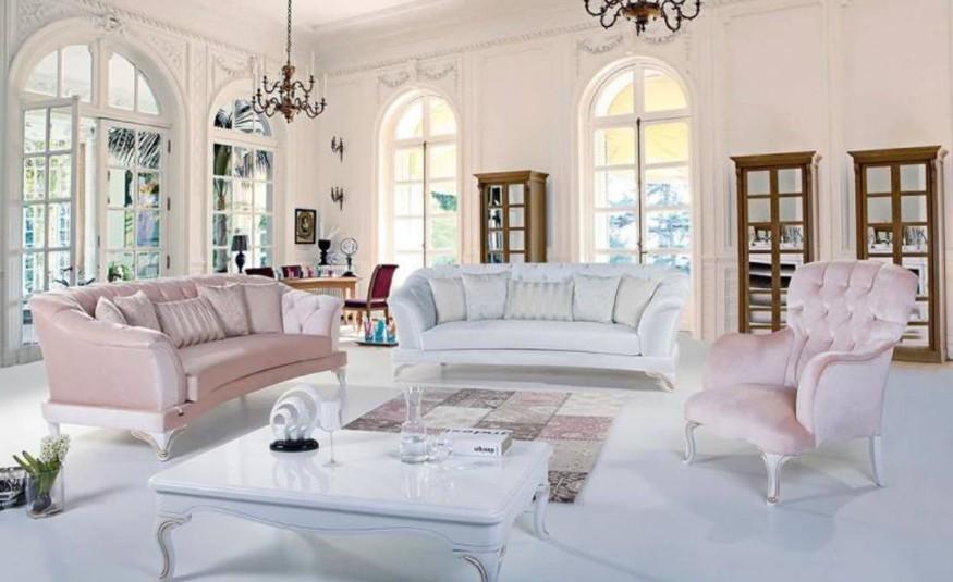 Pudra Beyaz Renk Koltuk Takimi Dekorasyon Rehberiniz
