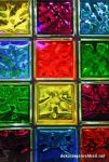 Renkli Cam Tuğlalar