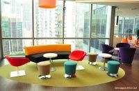 Renkli Yeni Ofis Dekorasyonları
