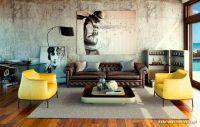 Sarı Kahverengi Tonlarda Ev Dekorasyonu