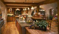 Taş Temalı Büyük Mutfak Modelleri