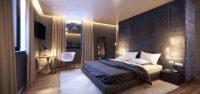 Yatak Odalarında Modern Mobilyalar