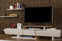 Beyaz Renk Enjoy Tv Ünitesi Modeli