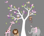 Çocuk Odaları İçin Eğlenceli Stickerler