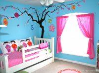 Çocuk Odası Mavi Duvar Rengi