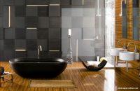 En Güzel Siyah Banyo Tasarımları