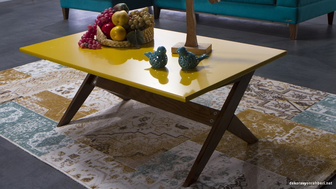 Sik Salonlar Icin Bellona Orta Sehpa Modelleri Dekorasyon
