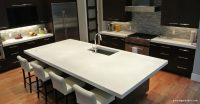 Beyaz Beton Mutfak Tezgahı