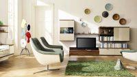 Salon Duvar Dekorasyonunda Özenli Tasarımlar